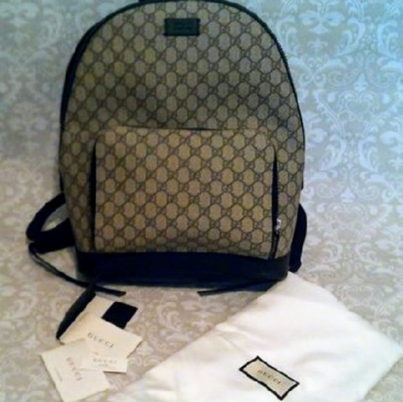 e69b01ee28f7df Gucci Bags | New Gg Supreme Canvas Backpack | Poshmark